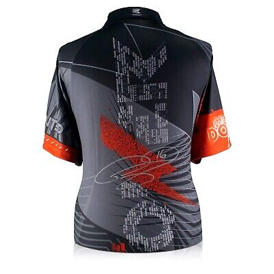 Phil The Power Taylor Back Signed 2018 Darts Shirt | Autographed Memorabilia