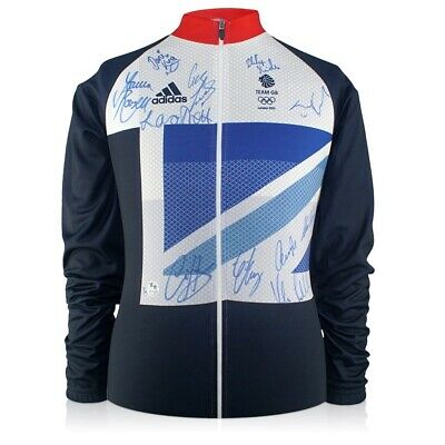 Team GB Signed London 2012 Olympics Cycling Jersey | Autographed Memorabilia