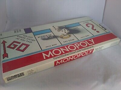 Vtg 1961 New Sealed Parker Brothers Monopoly Board Game No # 9