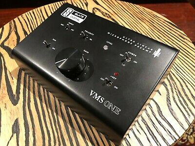 Slate Digital VMS ONE Ultra Linear Preamp with Power Supply Pre amp