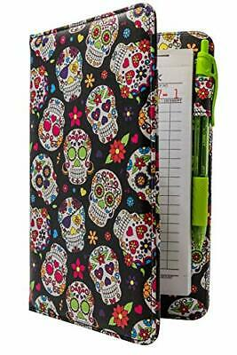 Industry Night Cute Patterns Server Book Organizer/Cool Print Server Wallet for
