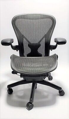Herman Miller Classic Aeron Office Chair Fully loaded B Medium Size Posture Fit
