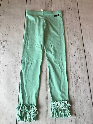 Matilda Jane Friends Forever Lacey Ruffled Leggings Size 8
