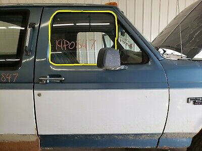 1997 Ford Pickup F250 Passenger Right Front Door Glass Window Tinted