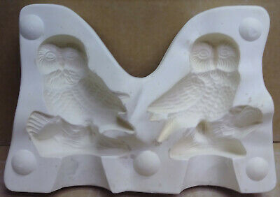 Ceramic Mold  Twin Owls Mike's 174 Used Mold