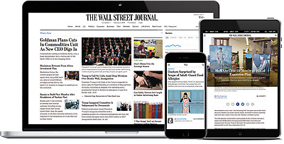 [Trusted US Seller]Wall Street Journal WSJ 2-Year PERSONAL Digital Subscription