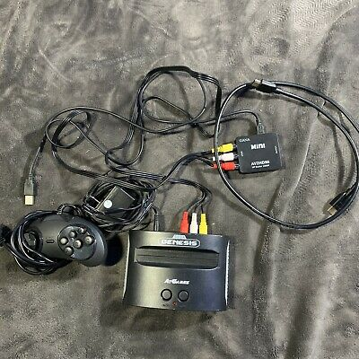 AtGames Sega Genesis Classic Home Game Console 81 Games Included