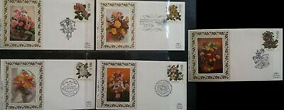 GB 1991 Roses Benham Limited Edition FDC SHS  First Day Cover  Kew Gardens