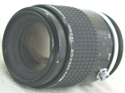 Nikon Micro-Nikkor 105mm f/2.8 MF Ai-s Lens Working Condition Dent