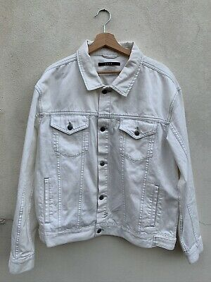 Ksubi White Denim Jacket