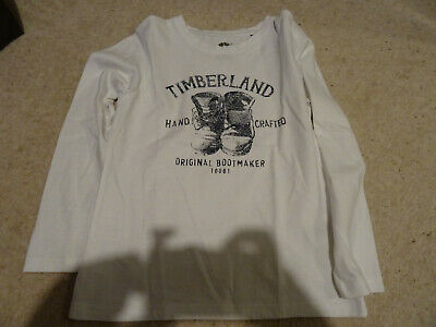 Boys Timberland Lonf Sleve Top Age 8 126cm