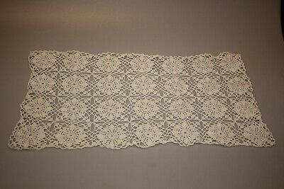 Vintage , small hand-crocheted table mat