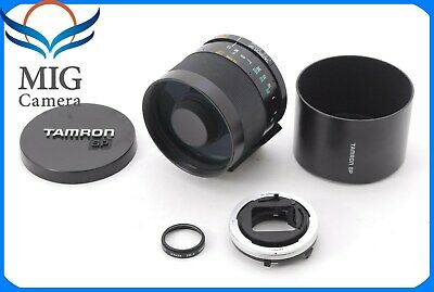 Tamron SP 350mm F/5.6 Tele Macro Lens for Canon FD Mount From Japan 604