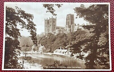 Durham Cathedral from the River by Henry Dawson UK  8x10 Print Picture 1868