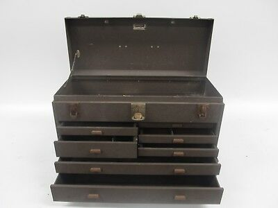 Kennedy Kits 520 Metal Machinist Tool Chest - 7 Drawers - No Door - No Keys