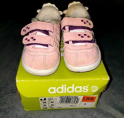 Girls Adidas Trainers Size 4 Infant - Toddler - Baby