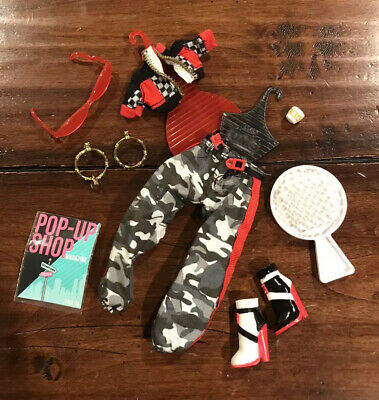 LOL Surprise OMG Amazing Downtown Girl Doll Outfit w/Shoes Jewelry Sunglasses