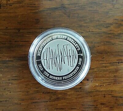 2018 Royal Mint Frankenstein 200 year Anniversary BUNC £2 Coin in Capsule - Rare