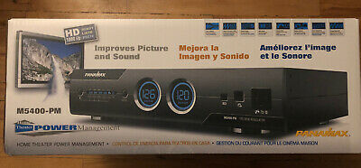 Panamax M5400 PM Power Management Surge Protection 11 Outlet Home Theater *New*