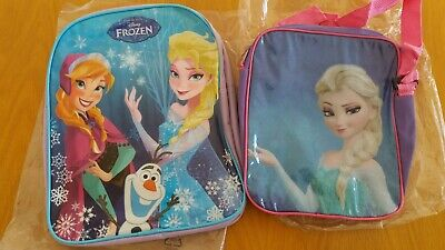 2 BNWOT girls Frozen bags (unwanted gifts)
