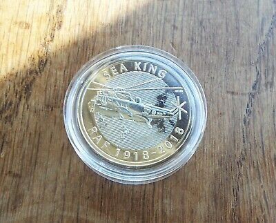 2018 Royal Mint RAF Centenary SEA KING UK £2 Brilliant Uncirculated Coin