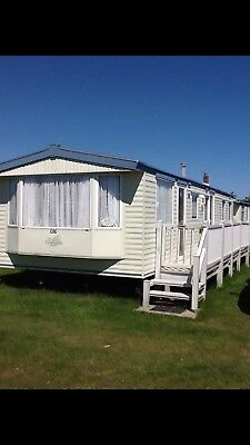 8 BERTH STATIC CARAVAN FOR HIRE, FANTASY ISLAND, Skegness 25/7/20 - 1/8/20