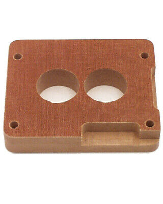 Canton 85-065 Phenolic Carburetor Adapter For Holley 2BBL And Holley 4BBL 1 Inch