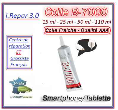 colle b7000 15ml / 25ml / 50ml / 110ml / réparation/télephone/tablette/montre