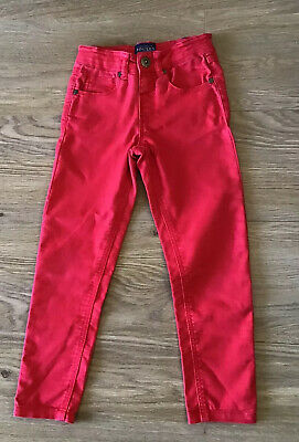 Joules Boys Red Skinny Jeans - Age 5 Years