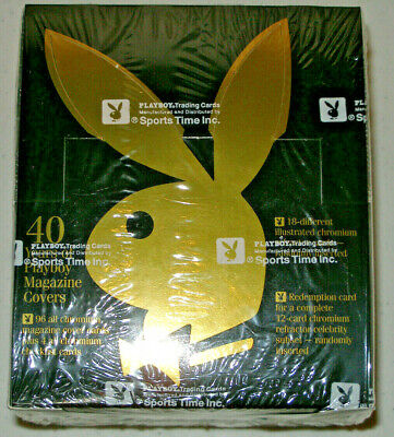 1994 Playboy Chromium Covers Edition 1 Trading Cards Sealed Box, Sports Time
