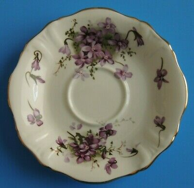 Hammersley Victorian Violets Countryside Saucer Plate Fine Bone China England