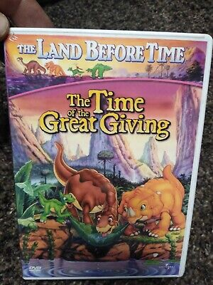 The Land Before Time - The Time of the Great Giving (DVD, 2002) - F0922