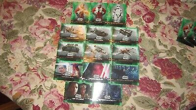 "Star Wars ""The Rise Of Skywalker"" 2019 (Parallel Green Card's ""You Pick"")!!!"