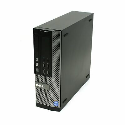 Dell Optiplex 9020 SFF i5-4570 QC 3.2Ghz 8GB Ram 128Gb SSD Win 10 Pro Desktop PC