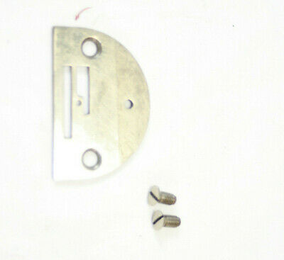 Original Singer 66 99 185 Sewing Machine Needle Throat Plate & Screws