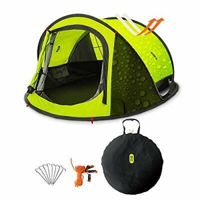 Pop Up Tent, Zenph Automatic 2-3 Persons Family Camping Tent, 3 Seconds