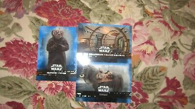 "Star Wars ""The Rise Of Skywalker"" 2019 (Parallel Blue Card's ""You Pick"")!!!"