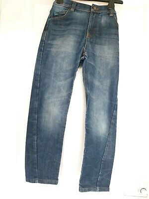 Excellent Condition F&F Twisted Leg Jeans Age 9-10 Yrs