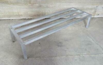 Aluminum Dunnage Rack 60x20x12 pallet stand