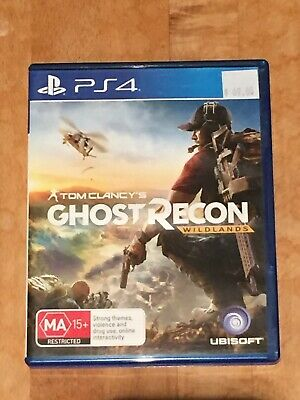 Tom Clancy's Ghost Recon Wildlands PlayStation 4 PS4 Brand New