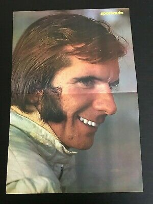 Formula One Race Pilot F1 Gp - Poster From French Magazine Affiche (M12)