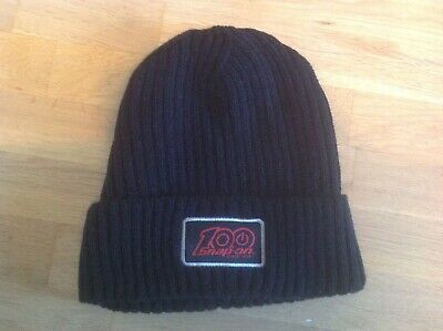 snap on tools limited edition 100 yrs beanie hat 100 %acrylic