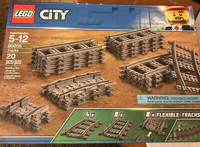 LEGO City Tracks 60205 Building Kit 20 Piece New Sealed