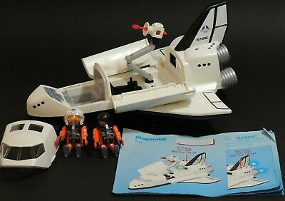 PLAYMOBIL 6196 City Action SPACE SHUTTLE CON light-up booster