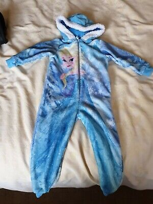 Girls Disney Frozen All in One Sleep suit Age 2 - 3  years