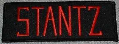 Ghostbusters Movie Stantz Name Tag Embroidered Iron on Patch