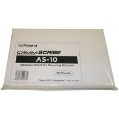ROLAND AS-10 adhesive sheets  2 packs/20 sheets