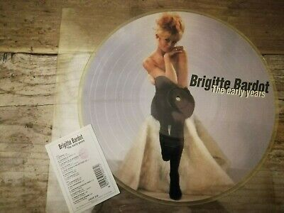 Brigitte Bardot – The Early Years Vinyl, LP, Compilation, Picture Disc 1995