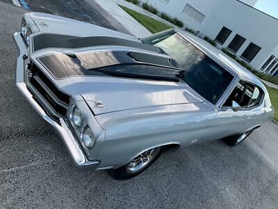 1970 Chevrolet Chevelle SS Restomod 585cid 800hp SEE VIDEO! 1970 Chevrolet Chevelle SS LS5 454 Build Sheet not 1969 1971 muscle car hot rod