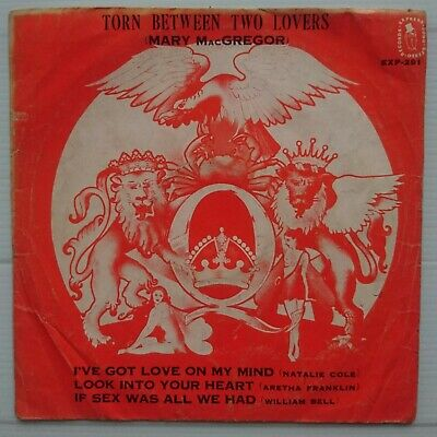 Queen - A Day At The Races (Image) Ep 45 - Rare Thai Pressing - Aretha Franklin